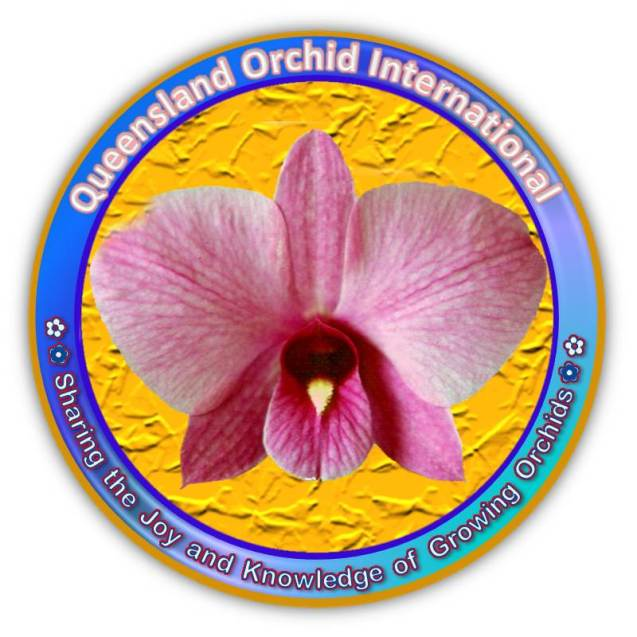 Queensland Orchid International logo