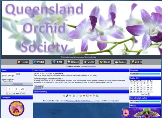 Queensland Orchid International Forum