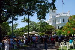 Celebrate Australia Day at Government House with the Governor, the Patron of the Queensland Orchid Society