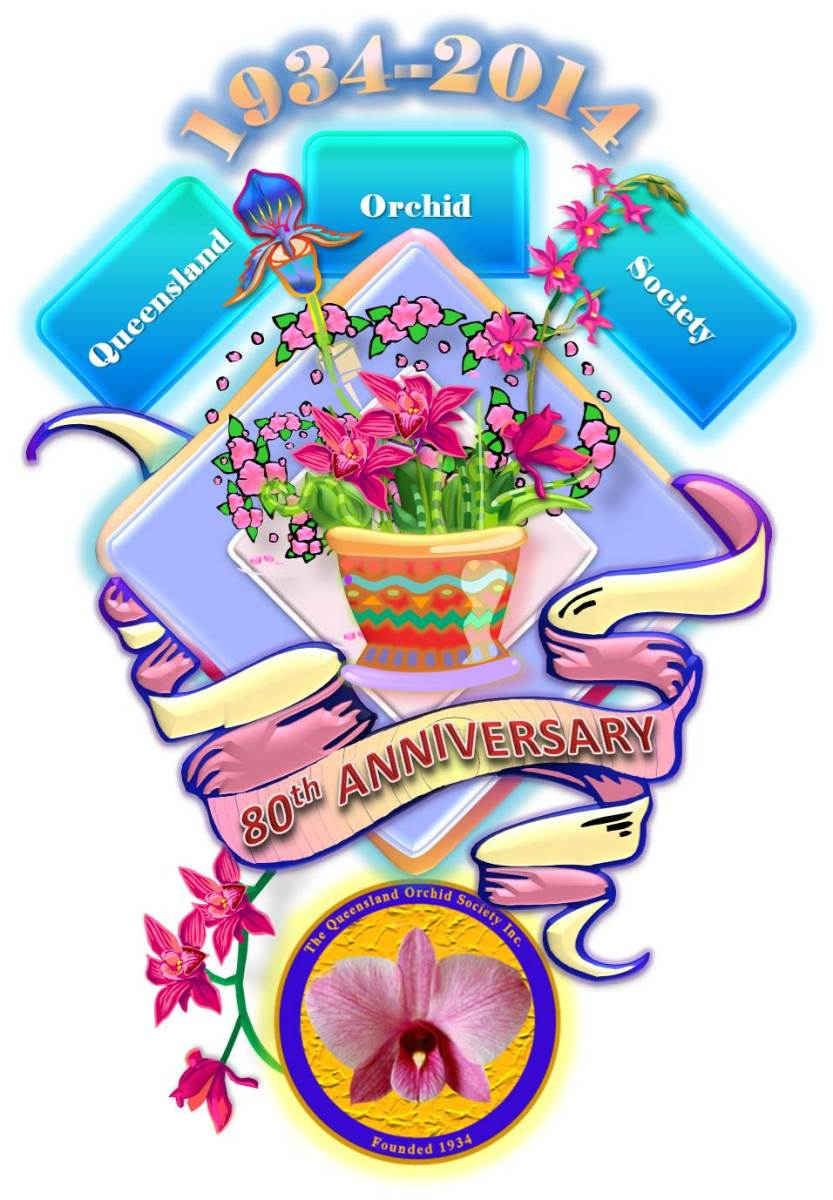 80th Anniversary of The Queensland Orchid Society Inc. 🎊8️⃣0️⃣🍹
