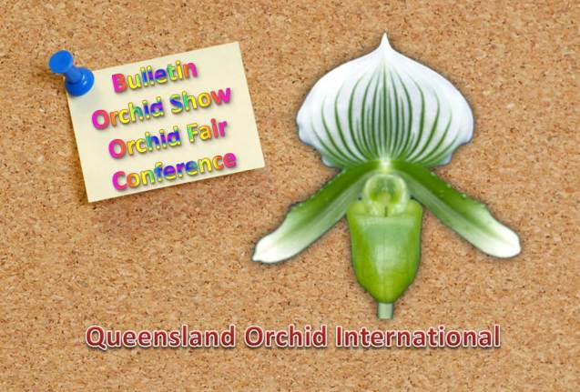 Bulletin, Orchid Show, Orchid Fair, Conference