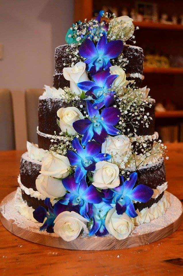 Christine Johnson's Wedding Cake