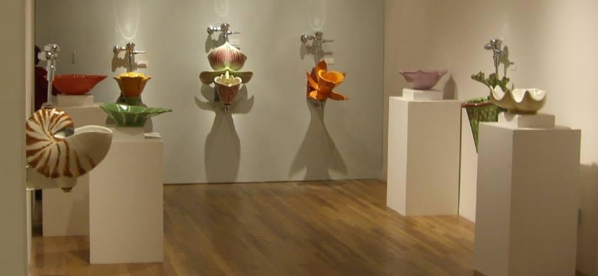 Urinal Sculptures by Clark Sorensen