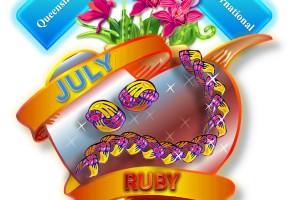 Queensland Orchid International July Birthstone & Jewellery Ruby