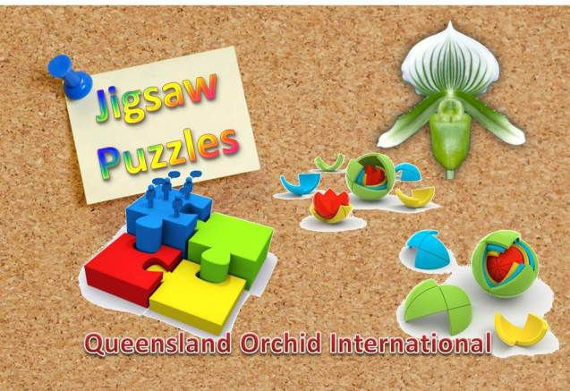 Queensland Orchid International Jigsaw Puzzles