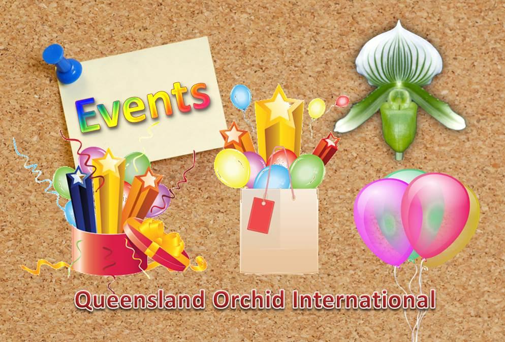 Queensland Orchid International Events