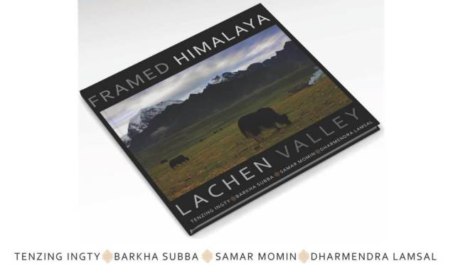 Framed Himalaya Coffee Table Book