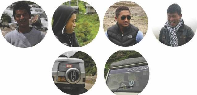 Framed Himalaya Drivers and Field Assistant
