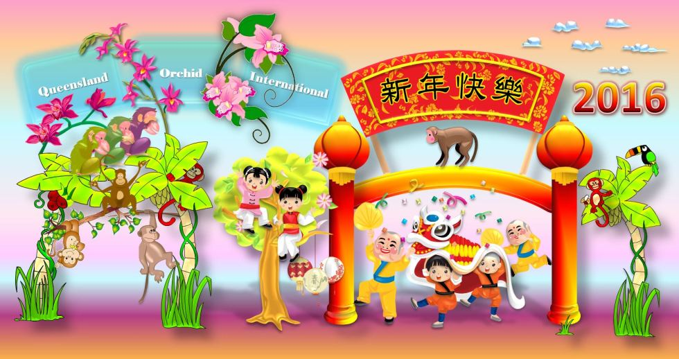 Queensland Orchid International Happy Chinese New Year 2016