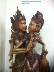 Wood Carving of Garuda (4)