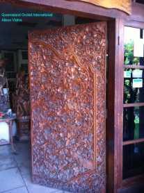 Wood Carving of Garuda (5)